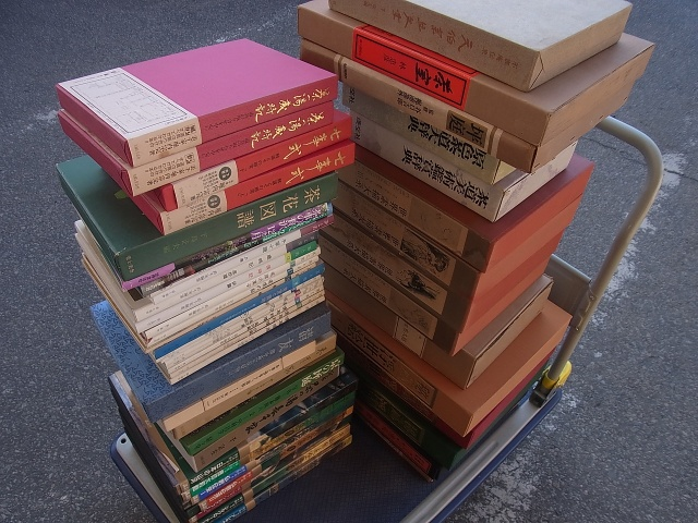 世界素描大系 茶道に関する本等を出張買取させて頂きました(表千家/裏千家/茨城県牛久市より)