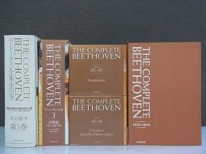 ベートーベン全集です