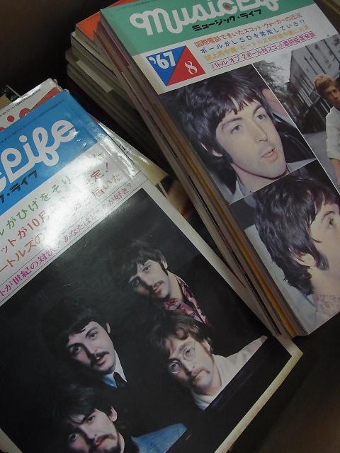 雑誌 「MUSIC LIFE ミュージック・ライフ」宅配にて買い取りさせて頂きました。