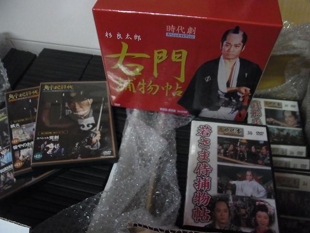 DVDコレクションの写真です