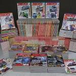 雑誌『カミオン』を大量にお売り頂きました(1989年から300冊以上)