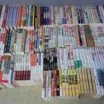 囲碁に関する本を大量にお譲りいただきました。